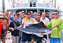 Deep sea fishing attracted a large group of LCT Summit attendees before the Welcome Dinner.